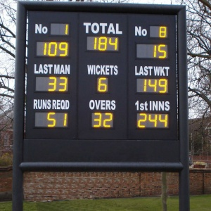 Cricket Score Board Electronic